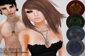 necklaces con botones