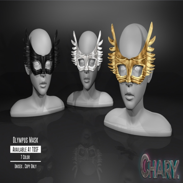 Mask of olympus render
